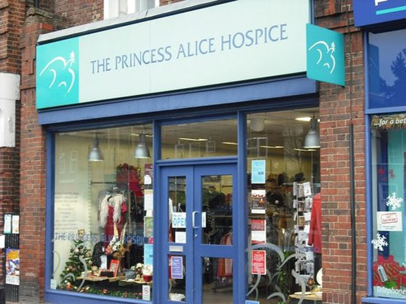 Princess Alice Hospice shop